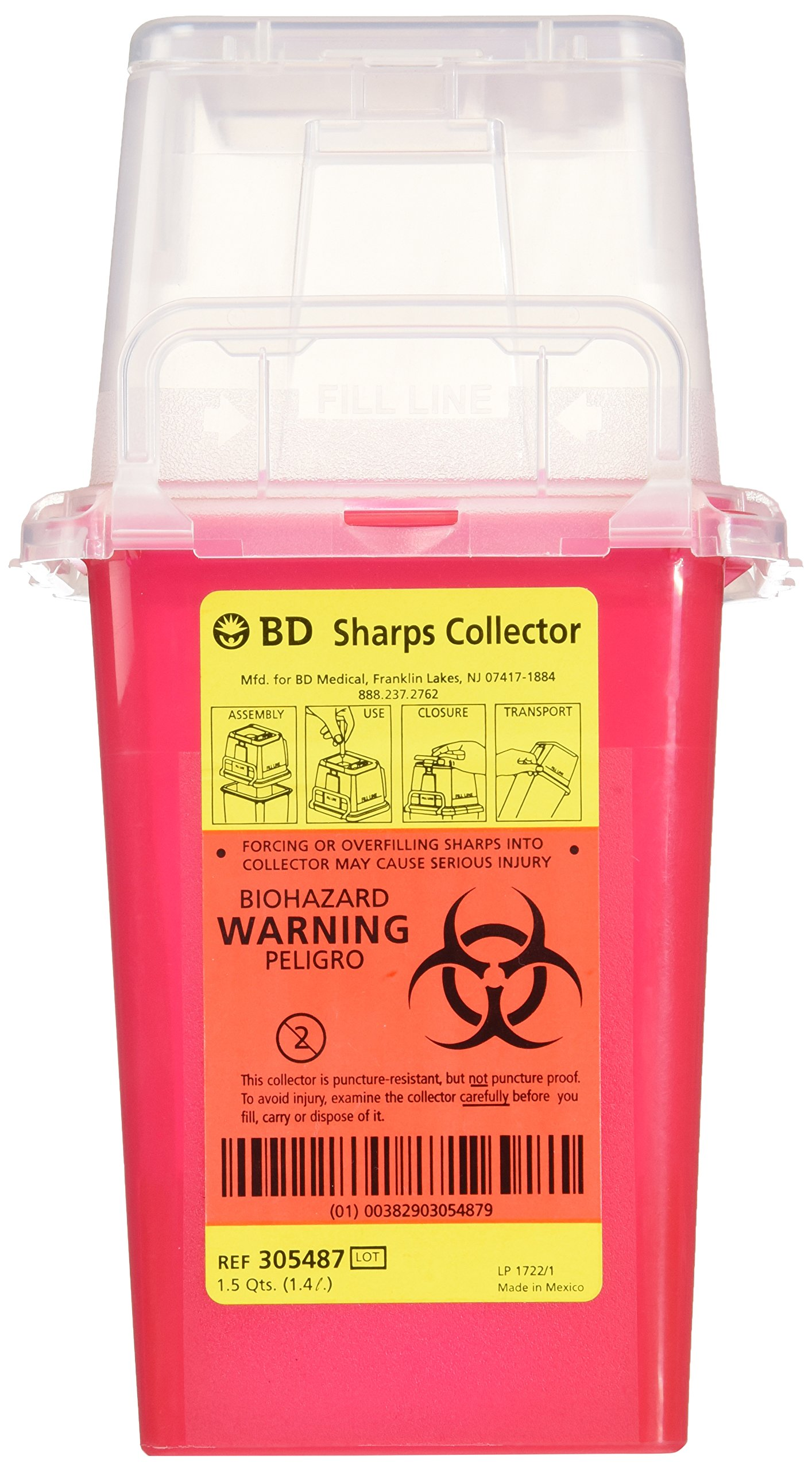 305487 SHARP COLLECTOR 1.5 QT