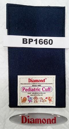 DIAMOND BP1660 CLOTH BAG VELCRO PEDIATRIC