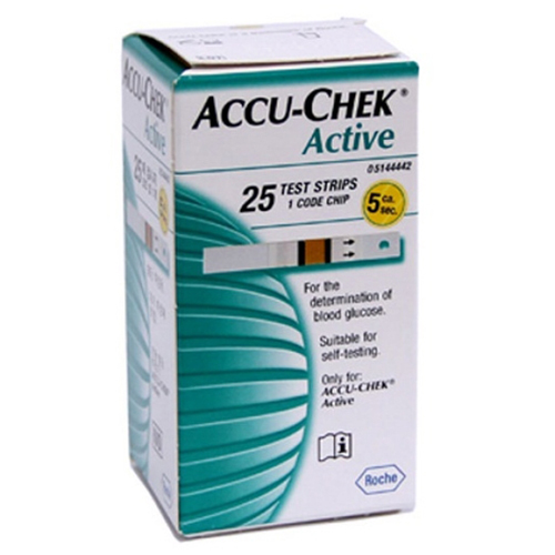 ACCUCHEK ACTIVE STRIPS 25S