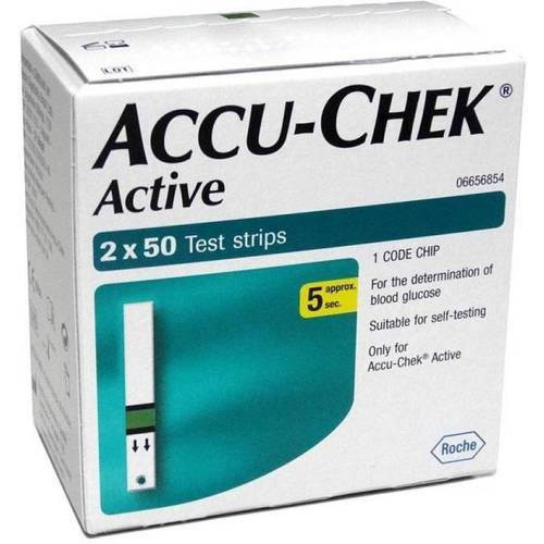 ACCUCHEK ACTIVE STRIPS 100S