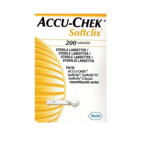 ACCUCHECK SOFT CLIX LANCETS 200S