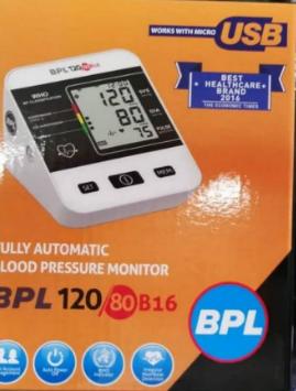 BPL B16 BP MONITOR