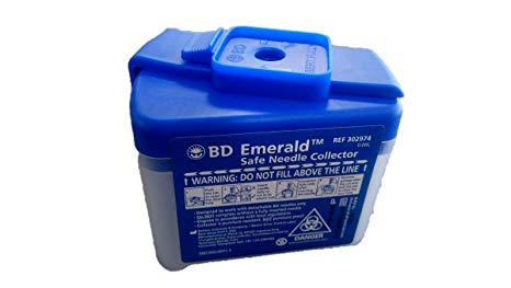 302974 EMERALD SAFE NEEDLE COLLECTOR
